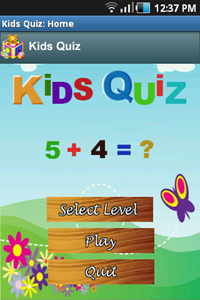 Kids Quiz - Android App for Kids